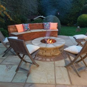 The Till Sandstone Fire Pit