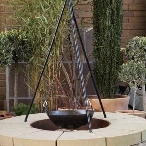 The Tweed York stone fire pit